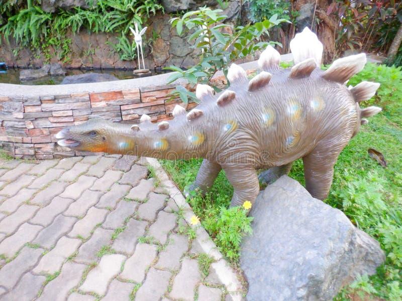 Stegosaurus-Dinosaurier stockbilder