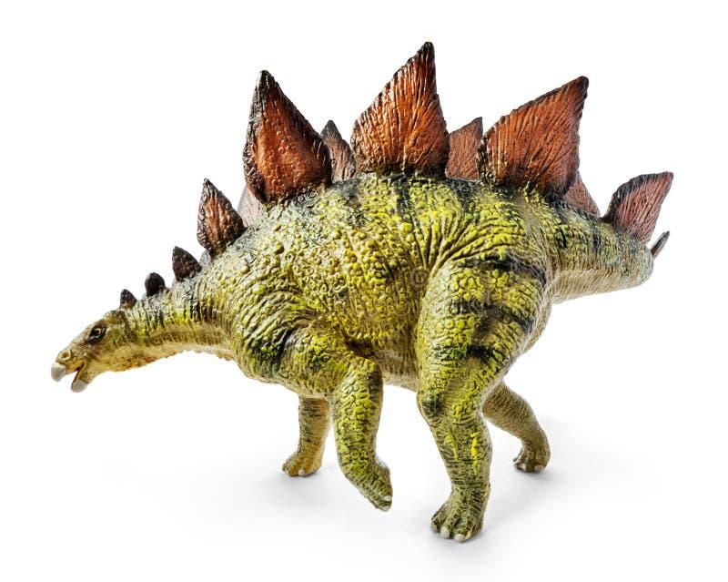 Stegosaurus, Klasse des gepanzerten Dinosauriers stockfoto