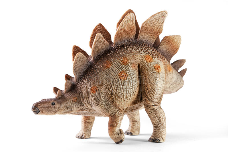 Stegosaurus, Klasse des gepanzerten Dinosauriers stockbilder