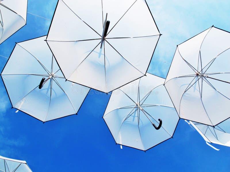 Stehen Sie heraus Regenschirme stockbilder
