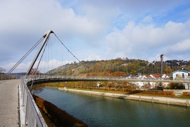 Stehlen Sie Brücke lizenzfreie stockbilder