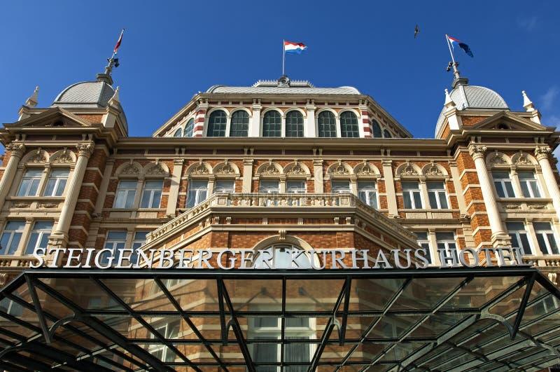 Steigenberger Kurhaus hotel w Haga dla sprzedaży obraz stock