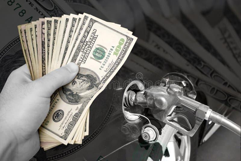 Steigende Brennstoffkosten lizenzfreie stockfotografie