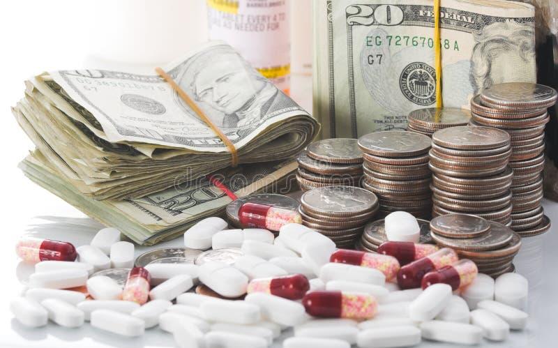 Steigende Kosten Gesundheitspflege lizenzfreies stockfoto