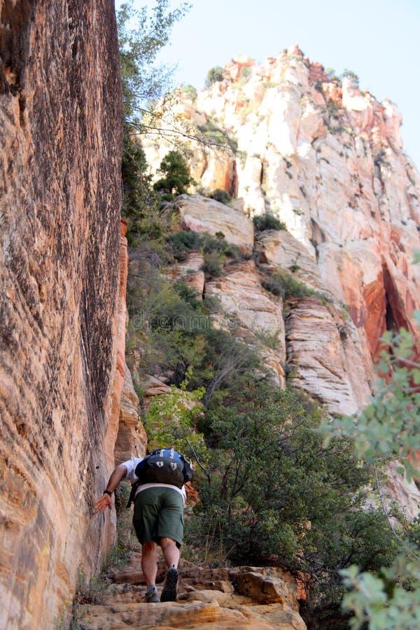 Steigende steile Klippen stockfotos