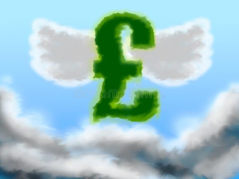 Steigendes Pound stock abbildung
