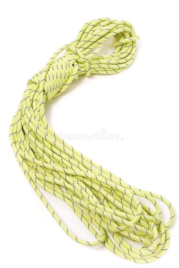 Steigendes Seil stockbilder