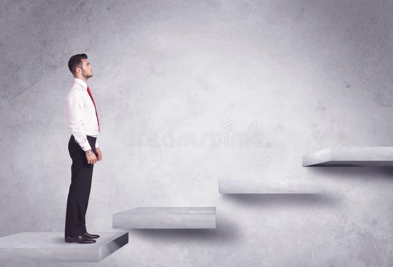 Steigerung eines Treppenhauses lizenzfreie stockfotos