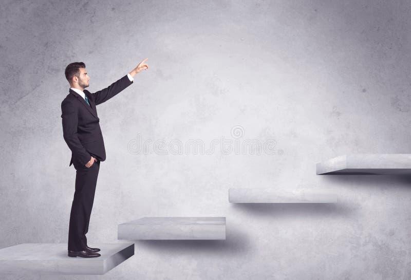 Steigerung eines Treppenhauses stockfotografie