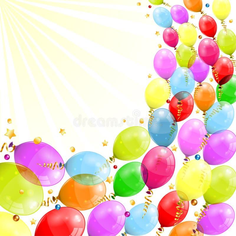 Geburtstags-Rahmen vektor abbildung. Illustration von lachen - 29866809