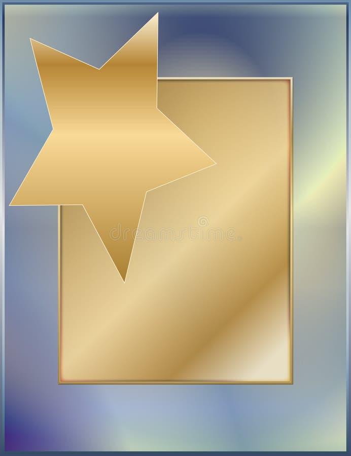 Steigunggold stockfoto
