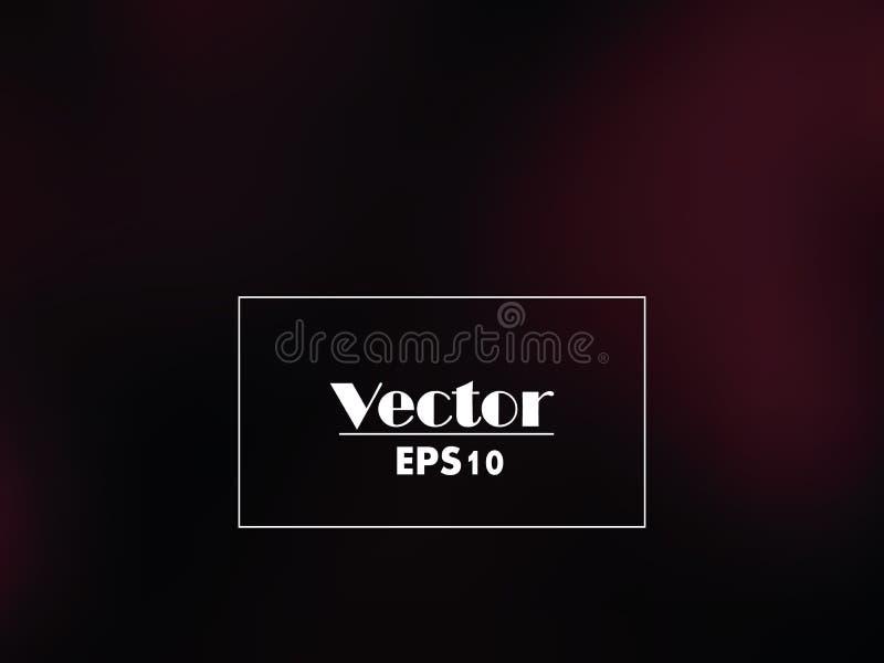 Steigungshintergrund des Vektors dunkler Kirsch vektor abbildung