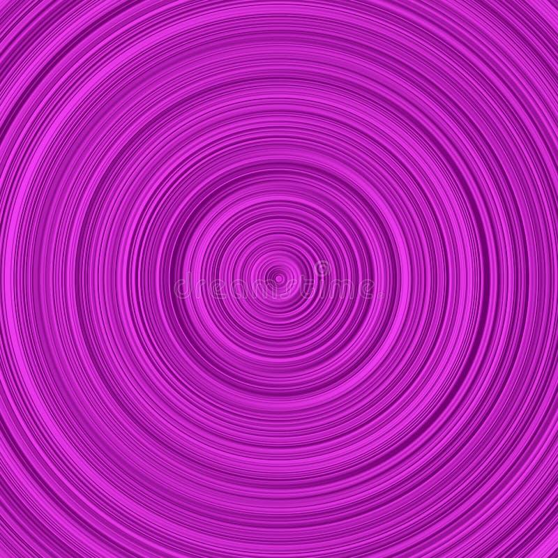 Steigungskreishintergrund - Veilchenzusammenfassungs-Vektorillustration vektor abbildung