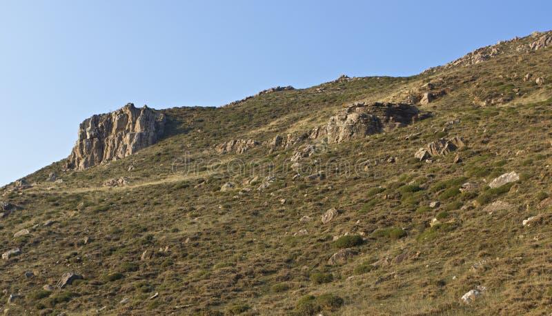 Steiler Berg stockbilder