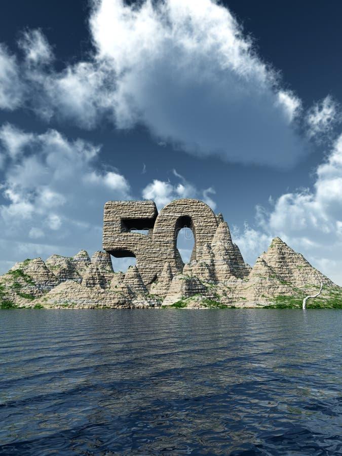 Stein fünfzig vektor abbildung