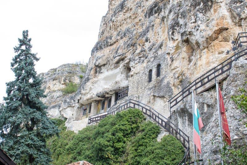 Stein-gehauene Kirchen von Iwanowo, Bulgarien lizenzfreies stockfoto