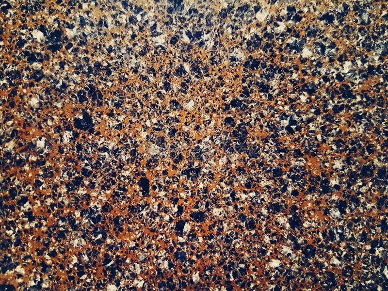 Stein mit Farbkrume stockfoto