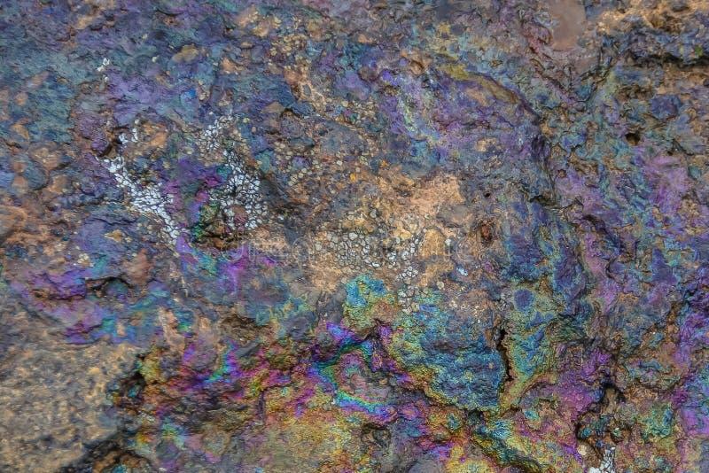 Stein mit Mineralien stockbild