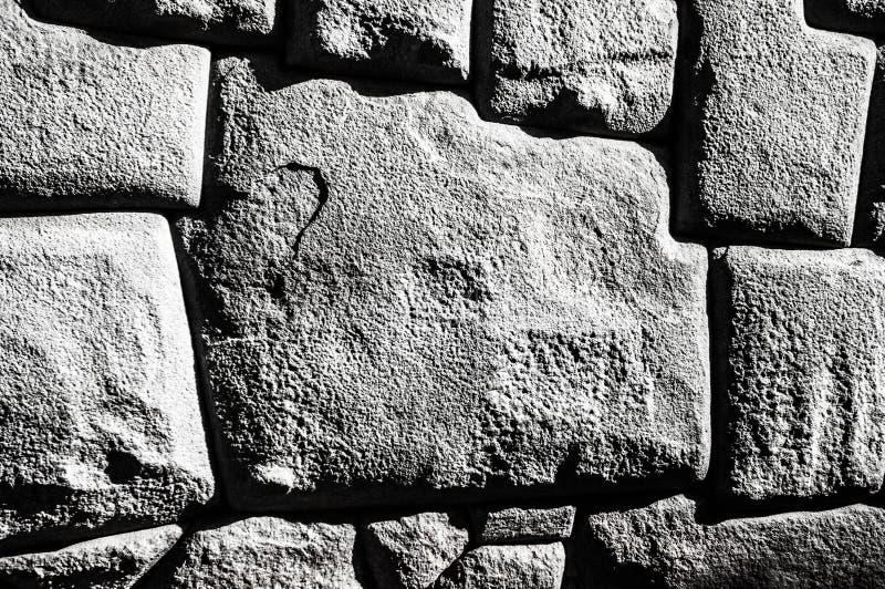 Stein mit 12 Winkeln stockbild