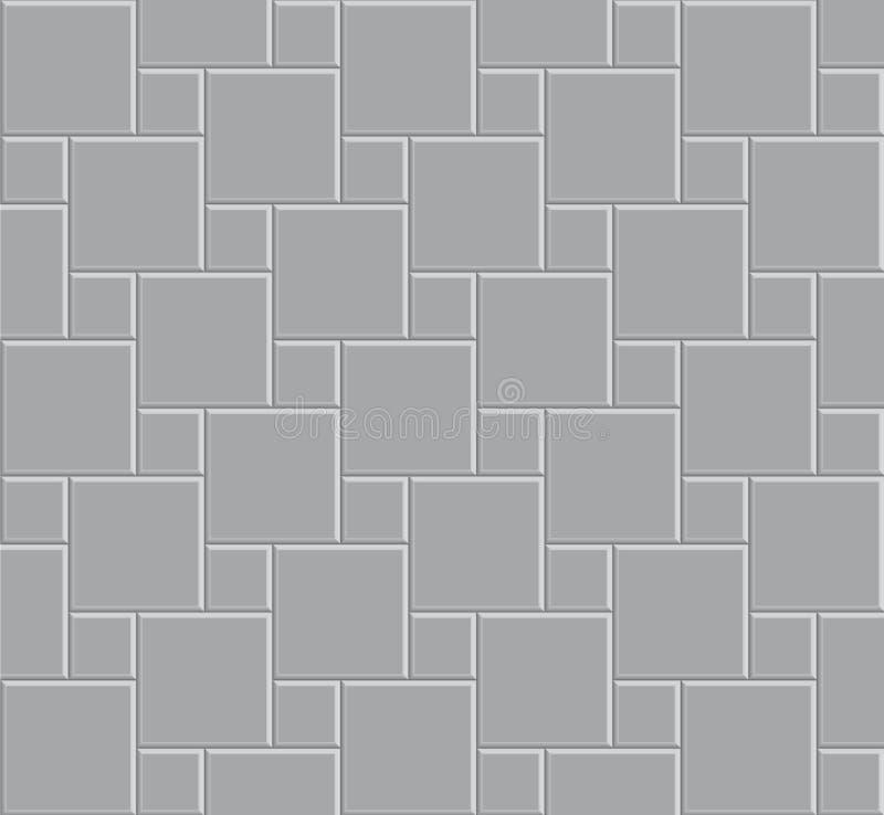 Stein-Musterboden der Fliese 3d vektor abbildung
