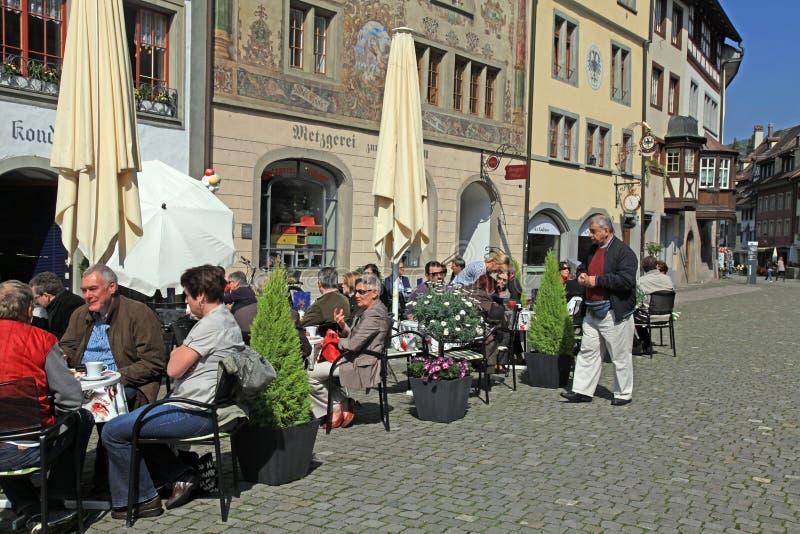Stein am Rhein, Швейцария стоковое фото
