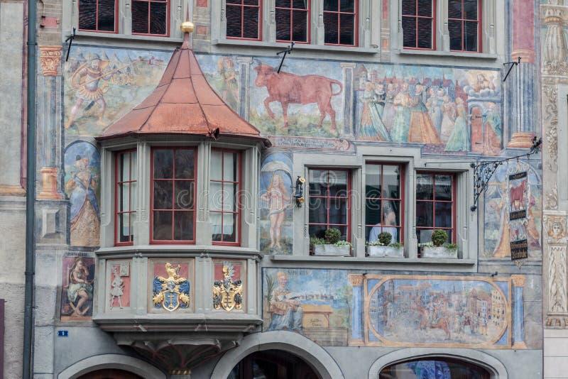 Stein am Rhein Швейцария стоковые фотографии rf