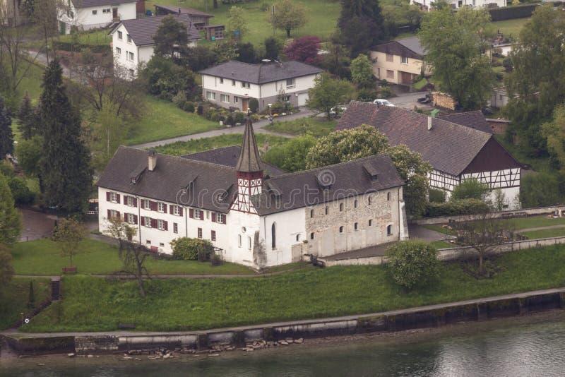 Stein am Rhein de construction médiéval Suisse photo stock