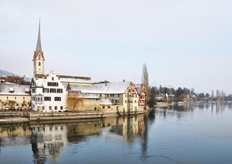 Stein AM Rhein, Suisse photographie stock