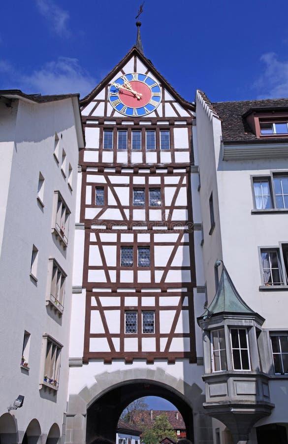 Stein am Rhein, Zwitserland stock foto's