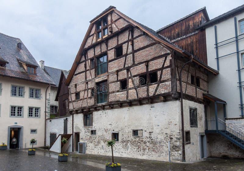 Stein am Rhein Zwitserland stock fotografie