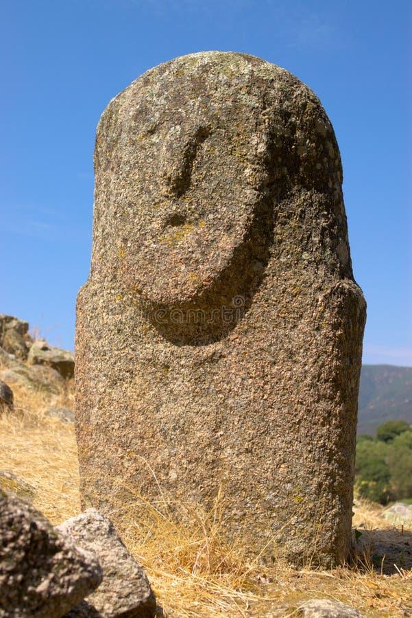 Steinabbildung der alten Zivilisation lizenzfreie stockbilder