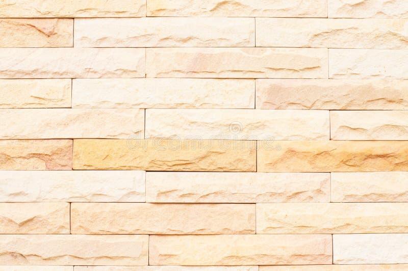 Steinbacksteinmauer stockfotografie