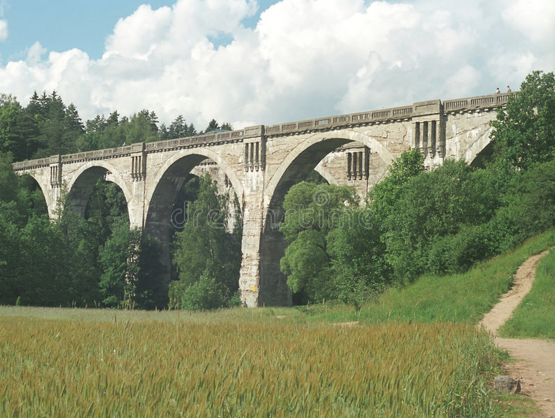 Steinbrücke stockfotos