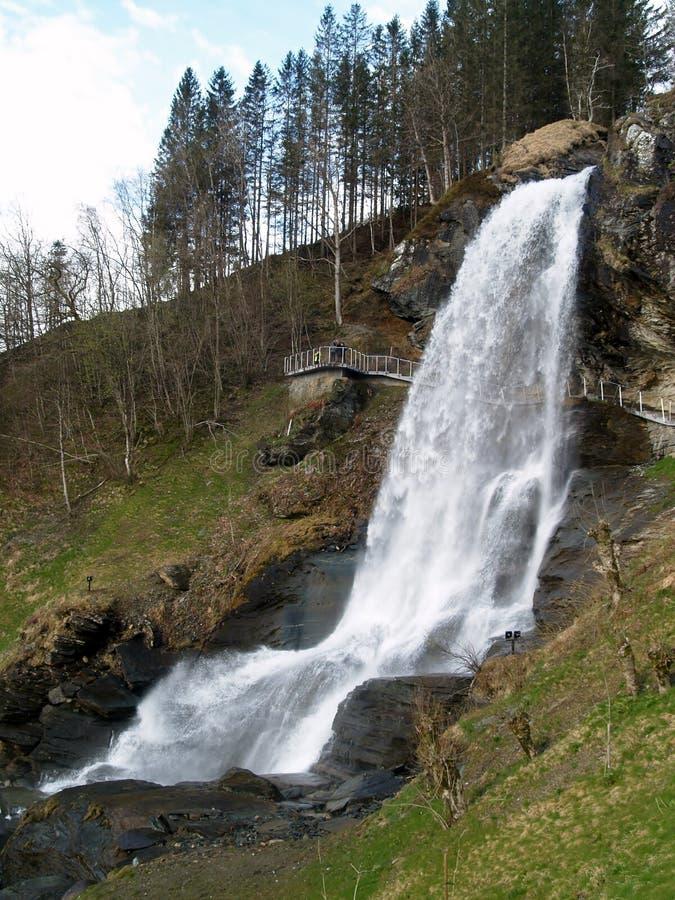 Steindalsfossen photos libres de droits