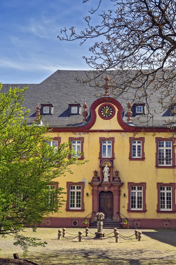 Steinfeld Abbey, Germany. The main building of Steinfeld Abbey, Germany royalty free stock image