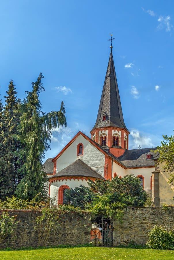 Steinfeld abbotskloster, Tyskland arkivfoton