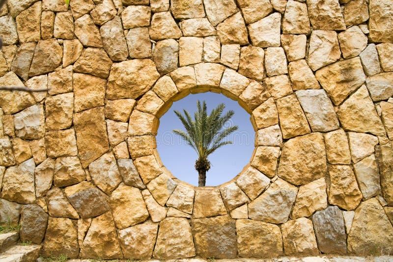 Steinfenster stockfoto