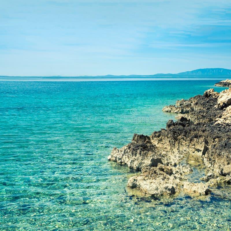 Steinige Küste stockbilder