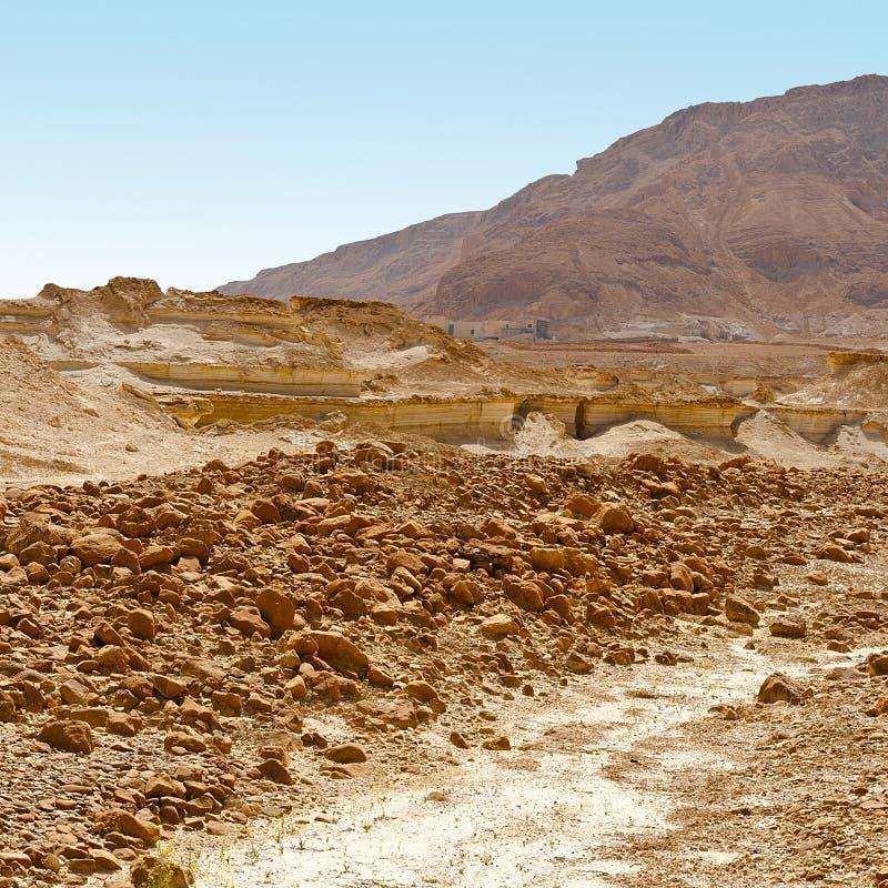 Steinige Wüste lizenzfreies stockbild