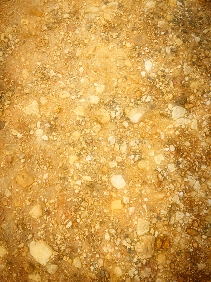 Steinkrume, felsiger Boden stockbilder