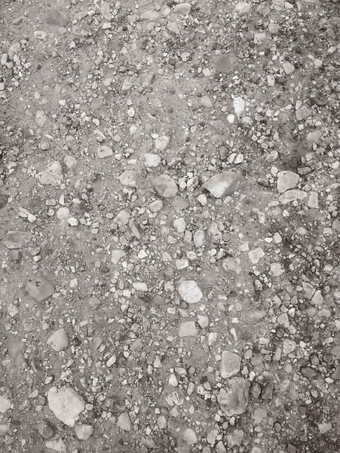 Steinkrume, felsiger Boden stockfoto