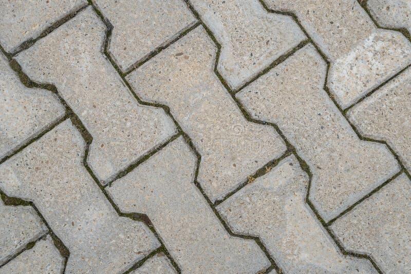 Steinpflasterungsbeschaffenheit Abstrakter Hintergrund alten Kopfsteins p stockfoto