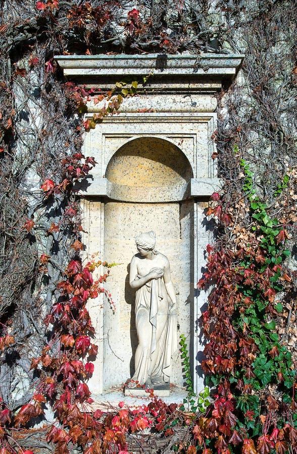 Steinstatue stockfotos
