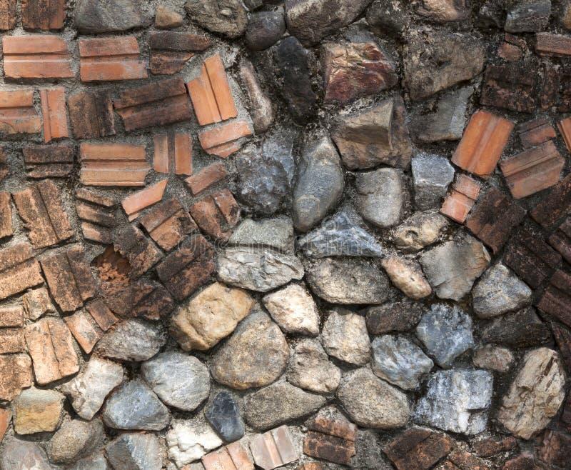 Steinwand des alten Ziegelsteines lizenzfreie stockfotos