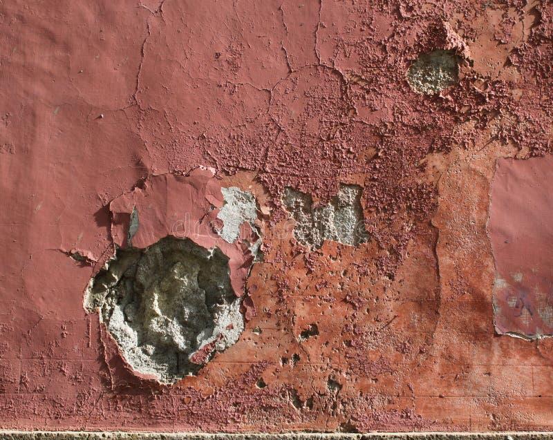 Steinwand des Grungy Pflasters lizenzfreies stockfoto
