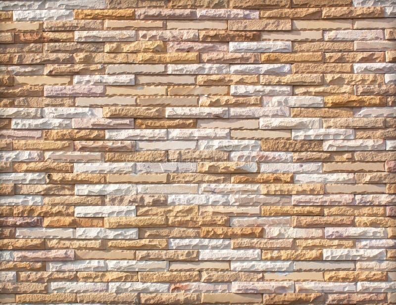 Steinwand hergestellt mit Blöcken lizenzfreie stockfotografie