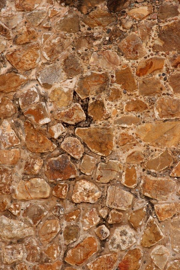 Steinwand von Mayaruinen stockfotos