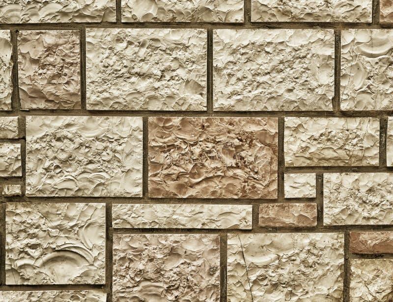 Steinwanddetail, instagram gefiltert lizenzfreie stockbilder
