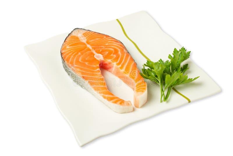 stek świeżego łososia fotografia royalty free