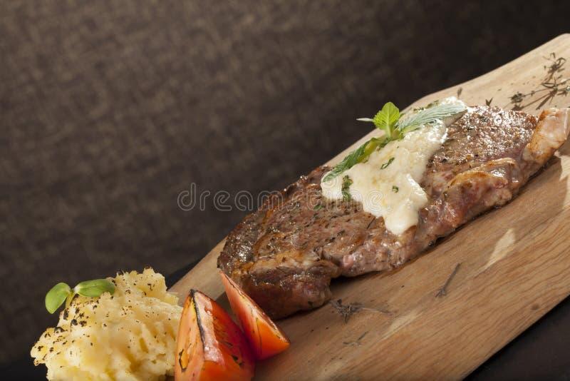 Stek i biały kumberland fotografia stock